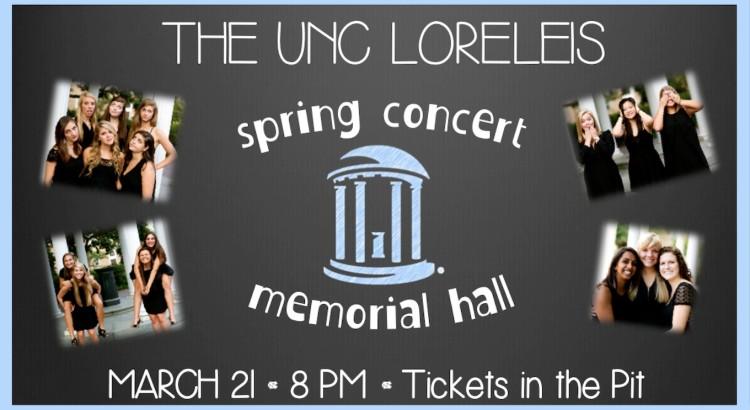 UNC Loreleis Spring Concert 2015
